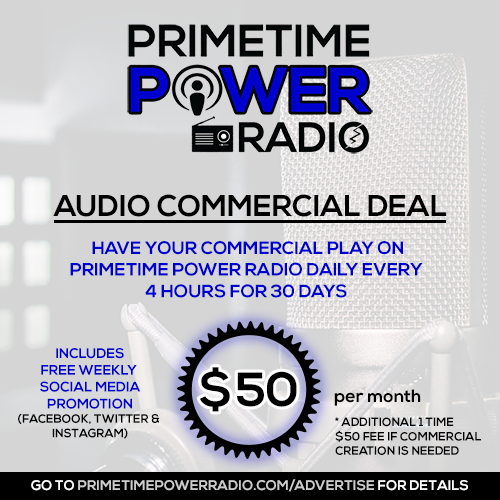 Primetime Power Radio - Audio Commercials