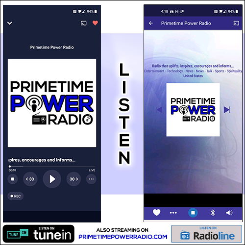 Primetime Power Radio - Listen!